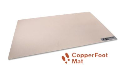 CopperFoot and CopperPaw Mats Kill 99% of Bacteria with CuVerro Shield Antibacterial Copper