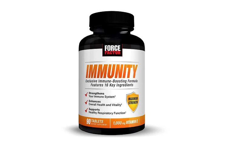 Immunity by Force Factor: Immune Boosting Supplement with 16 Ingredients