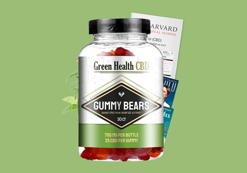Green Health CBD Gummies Review (2021) Safe CBD Gummy Bears?